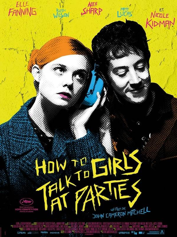 How to Talk to Girls at Parties, Affiche