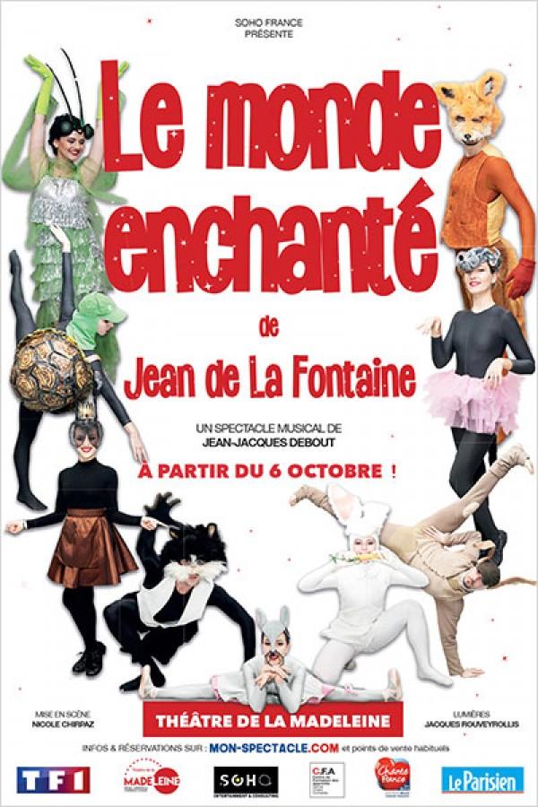 Le Monde enchanté de Jean de La Fontaine au Théâtre de la Madeleine