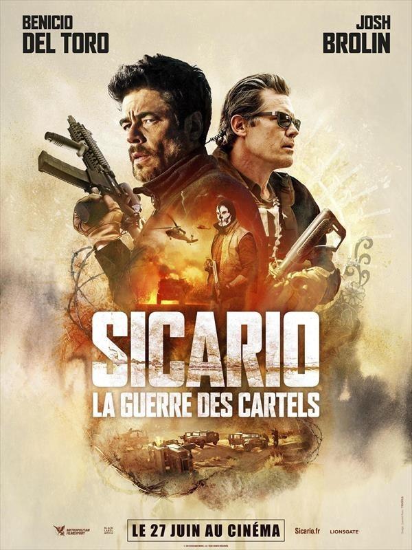Sicario : la guerre des cartels, Affiche