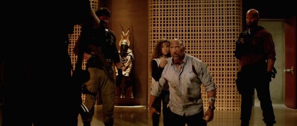 Personnage, McKenna Roberts, Dwayne Johnson, personnage