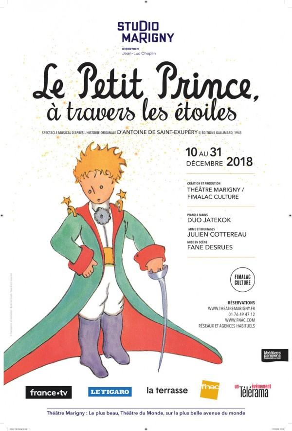 Le Petit Prince à travers les étoiles au Théâtre Marigny