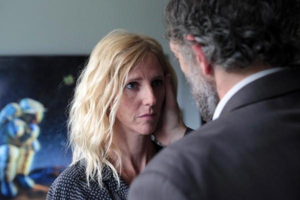 Sandrine Kiberlain (Solange Arnault), Vincent Cassel (François Visconti)