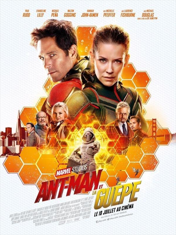 Ant-Man et la Guêpe, Affiche