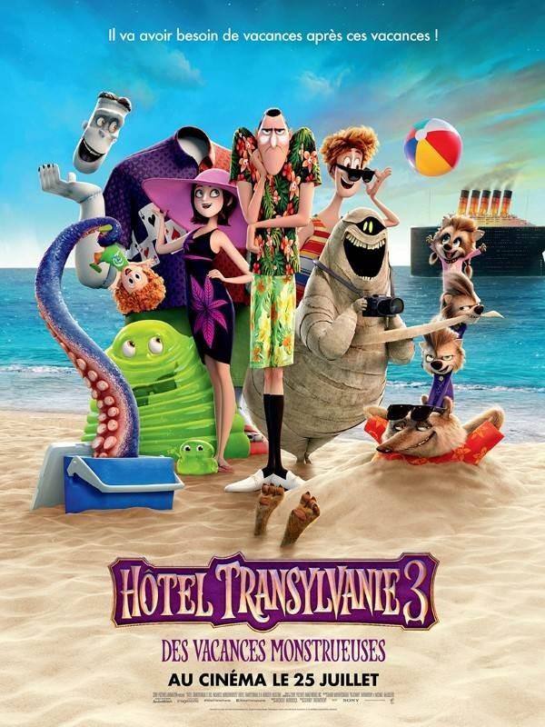 Hôtel Transylvanie 3 : des vacances monstrueuses, Affiche