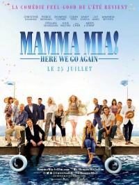 Mamma Mia ! Here We Go Again, Affiche