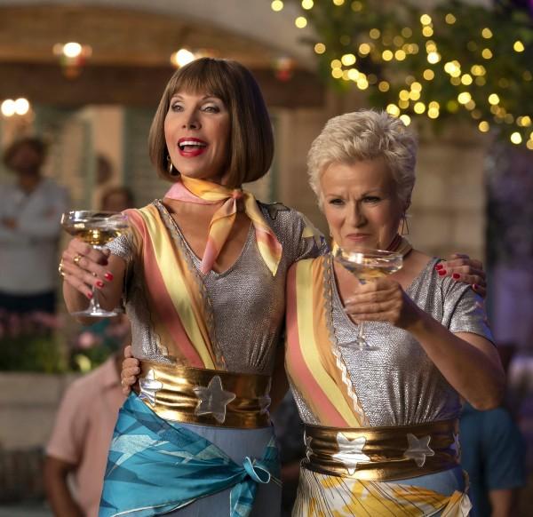 Christine Baranski (Tonya), Julie Walters (Rosie)