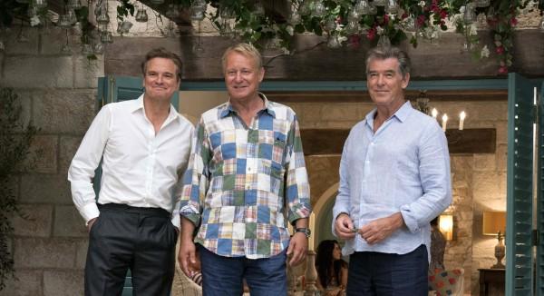 Colin Firth (Harry), Stellan Skarsgard (Bill), Pierce Brosnan (Sam)