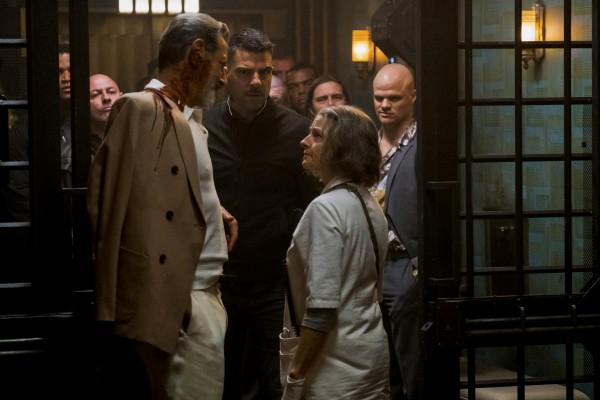 Jeff Goldblum (Niagara), Zachary Quinto (Crosby Franklin), Jodie Foster (l'infirmière)