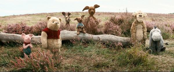 Piglet, Pooh, Rabbit, Roo, Kanga, Tigger, Eeyore