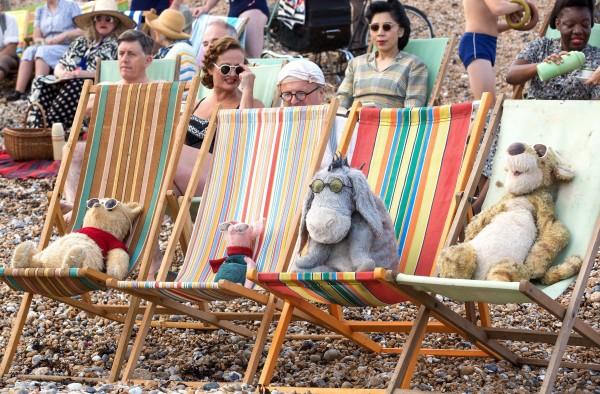 Winnie the Pooh, Piglet, Eeyore, Tigger