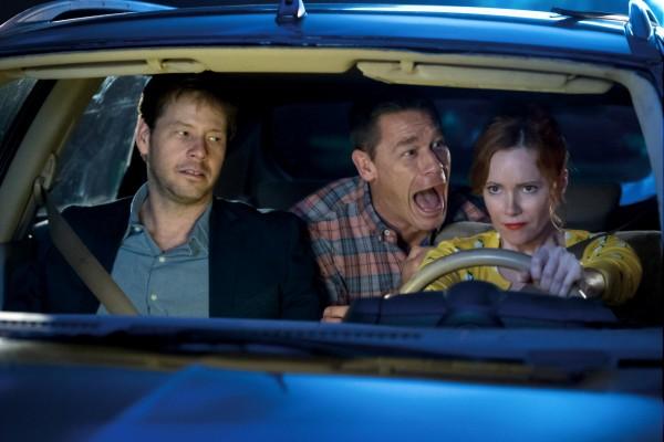 Ike Barinholtz (Hunter), John Cena (Mitchell), Leslie Mann (Lisa)
