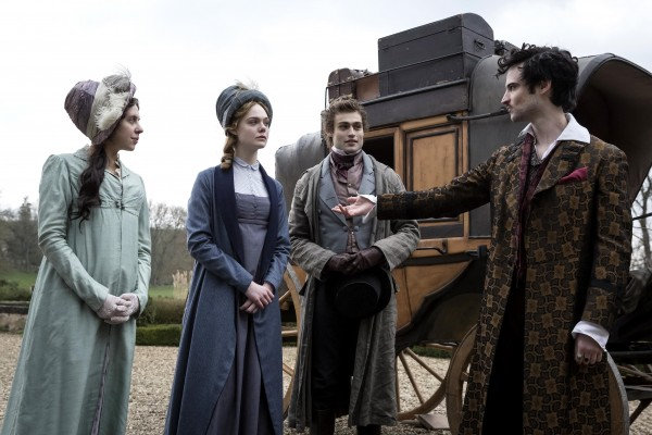 Bel Powley, Elle Fanning, Douglas Booth, Tom Sturridge