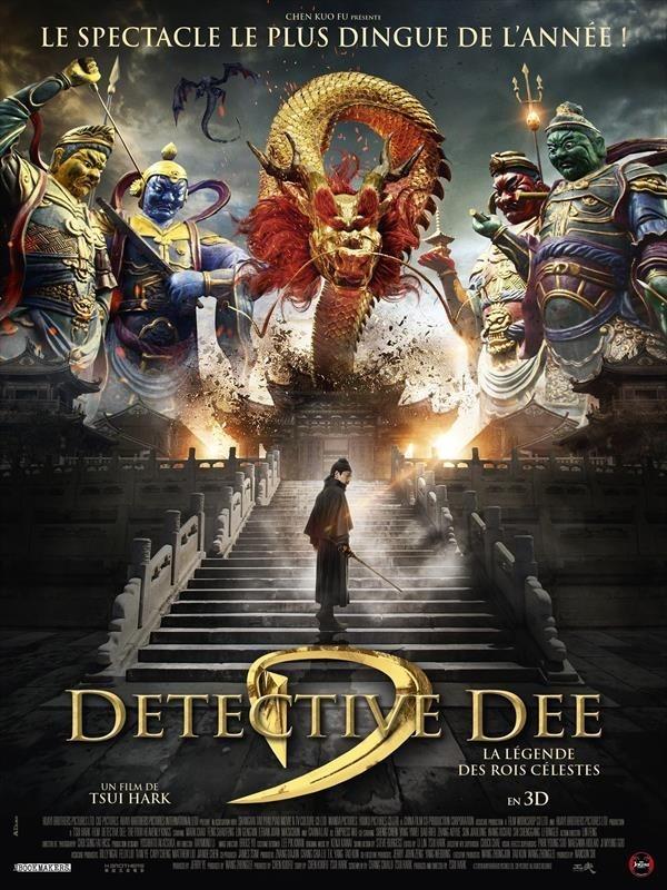 Detective Dee : La Légende des rois célestes, Affiche