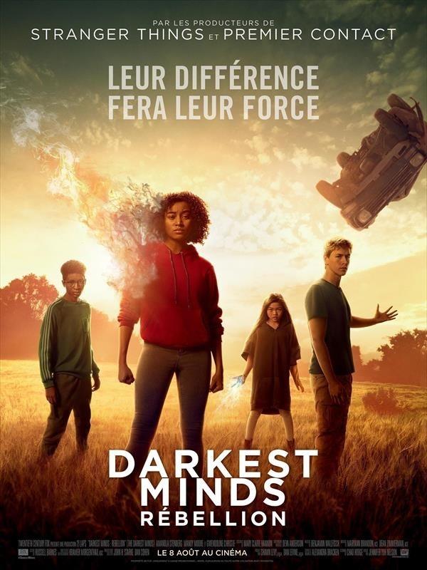 Darkest Minds : Rébellion, Affiche