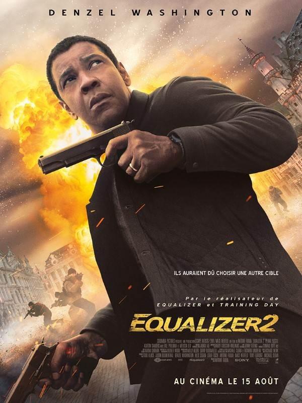 Equalizer 2, Affiche