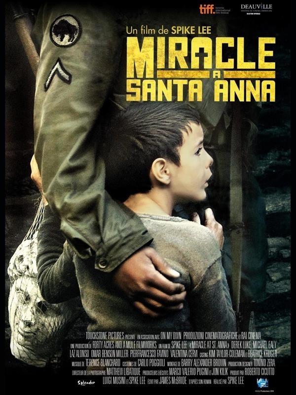 Miracle à Santa Anna, Affiche