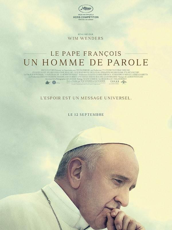 Le Pape François : un homme de parole, Affiche