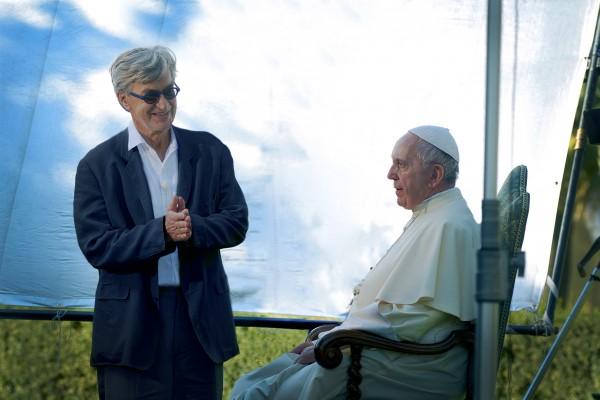 Le réalisateur Wim Wenders, Le Pape François