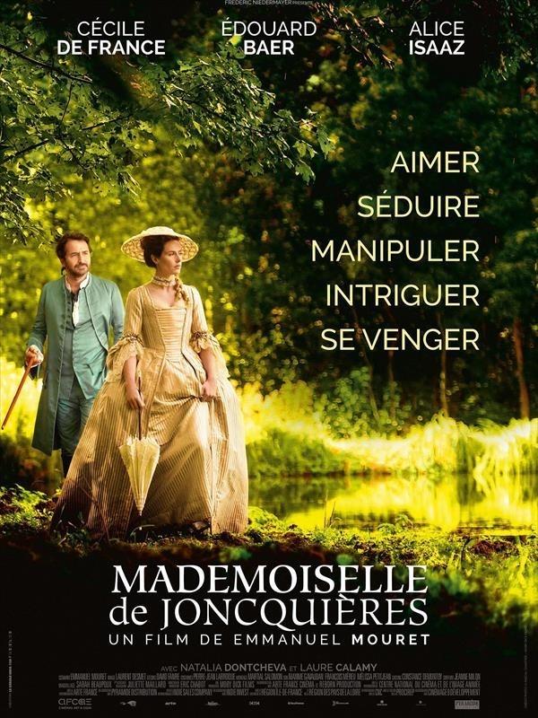 Mademoiselle de Joncquières, affiche