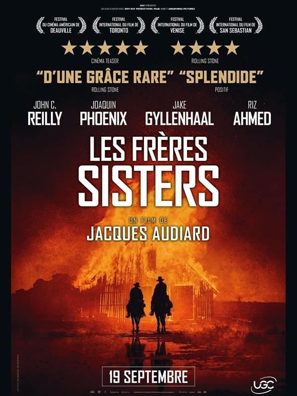 Les Frères Sisters, affiche