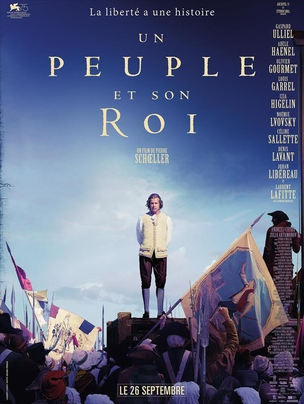 Un peuple et son roi, affiche