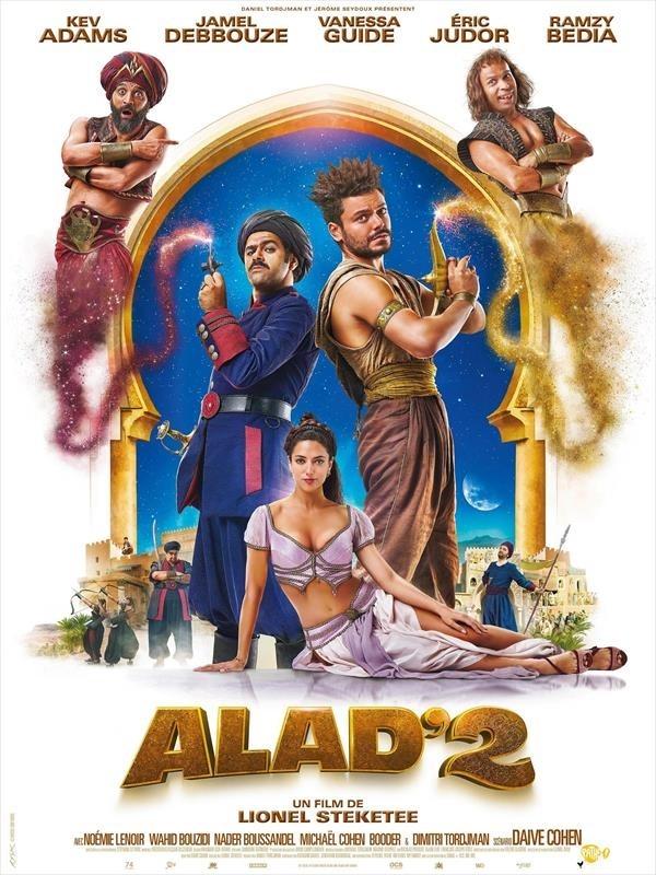 Alad'2, Affiche