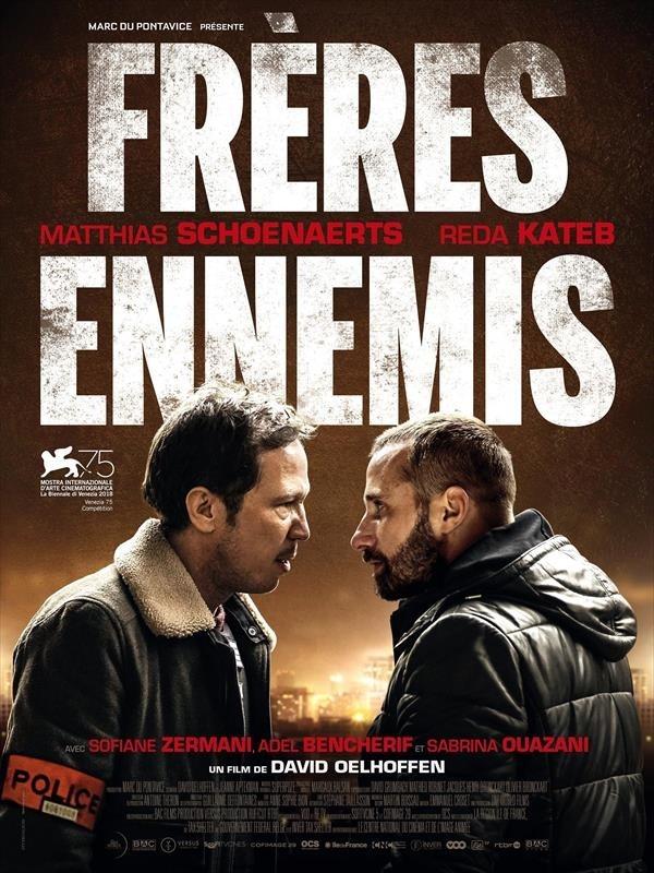 Frères ennemis, affiche