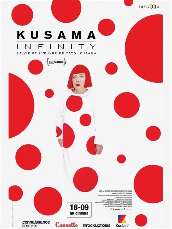 Kusama : Infinity, affiche