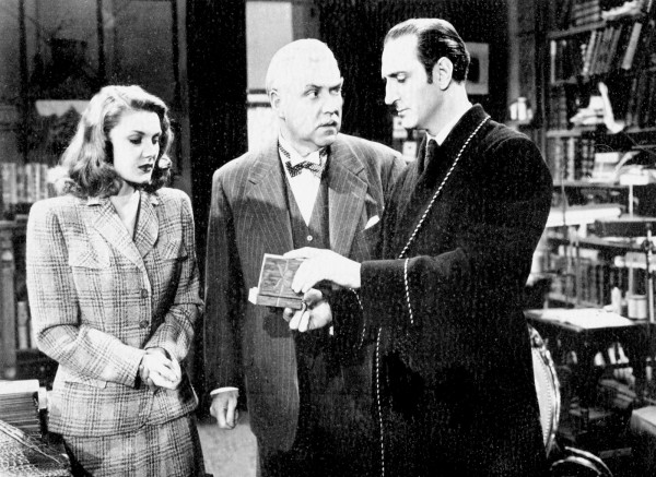 Eve Amber, Nigel Bruce, Basil Rathbone