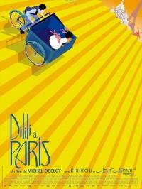 Dilili à Paris, affiche
