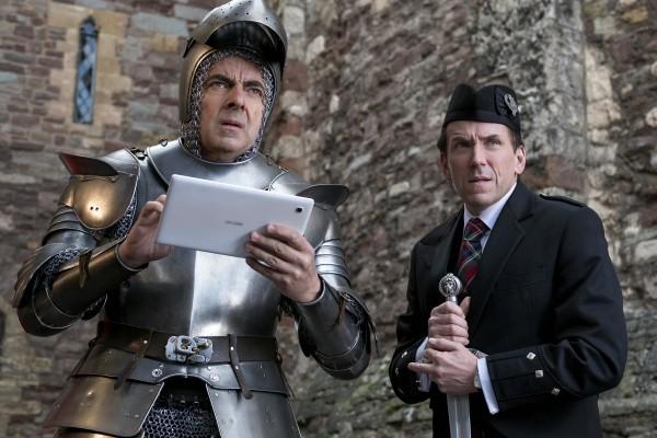 Rowan Atkinson, Ben Miller