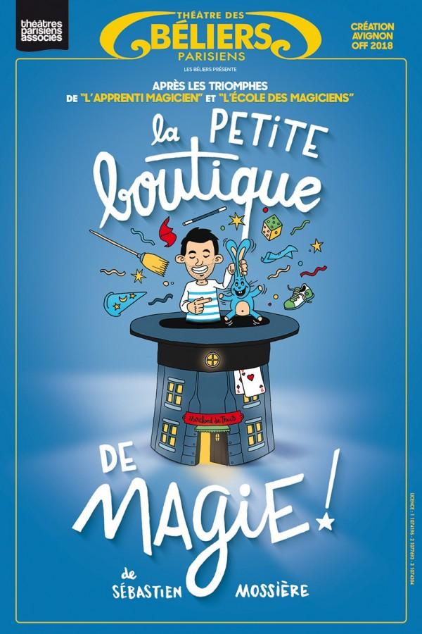 La Petite boutique de magie au Théâtre des Béliers parisiens