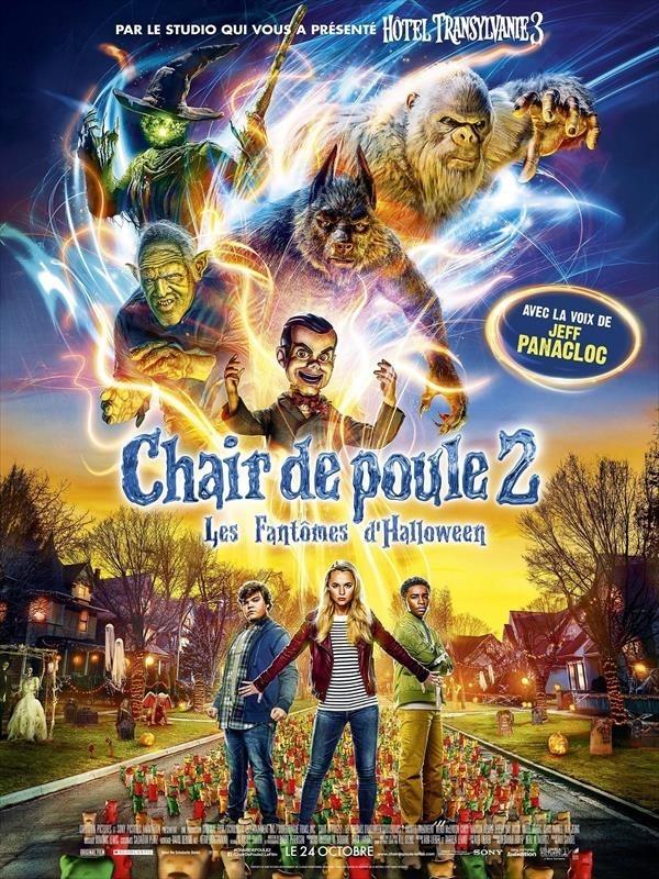 Chair de poule 2 : Les Fantômes d'Halloween, affiche