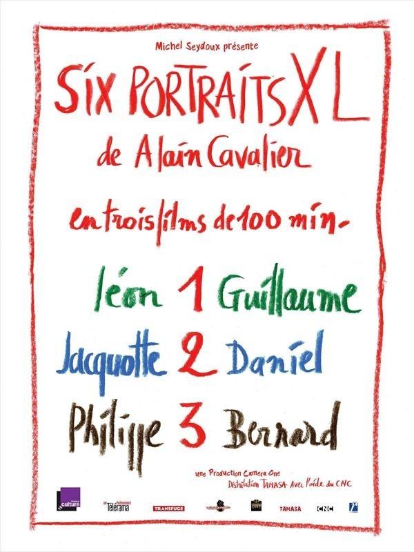 Six portraits XL 1 : Léon et Guillaume, affiche