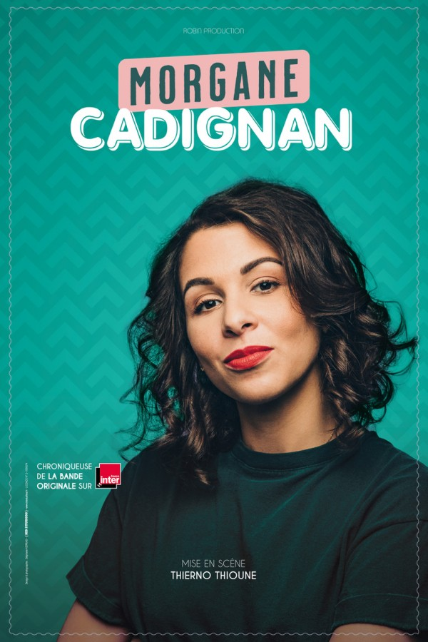 Morgane Cadignan - Affiche