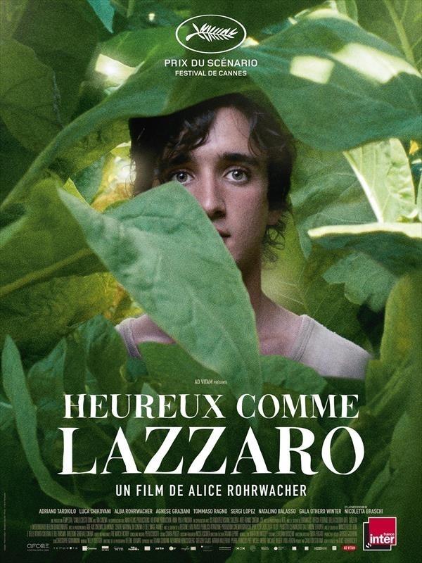 Heureux comme Lazzaro, affiche