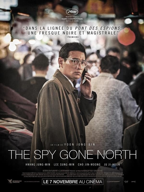 The Spy Gone North, affiche