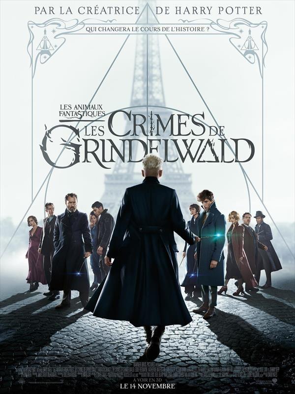 Les Animaux fantastiques : Les Crimes de Grindelwald, affiche