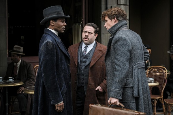 William Nadylam, Dan Fogler, Eddie Redmayne