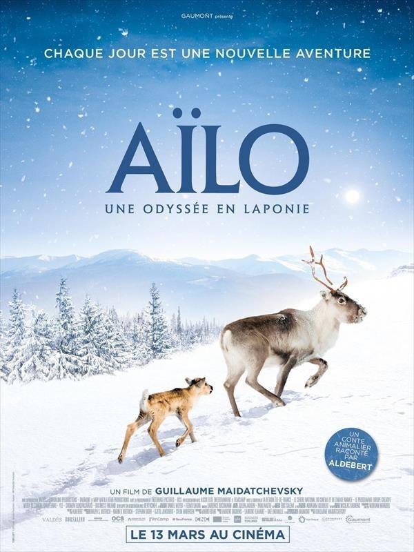 Aïlo, une odyssée en Laponie, affiche