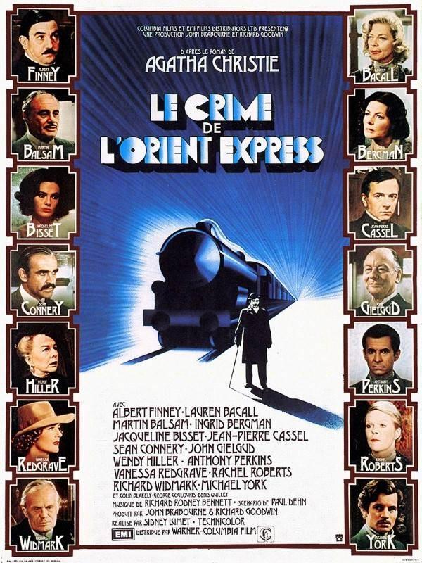 Le crime de l''Orient-Express, Affiche