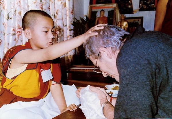 Kalou Rinpoché (adolescent), Richard Gere