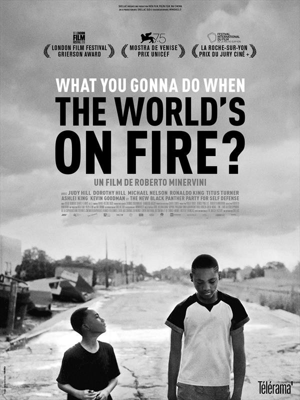 What You Gonna Do When the World's on Fire ?, affiche