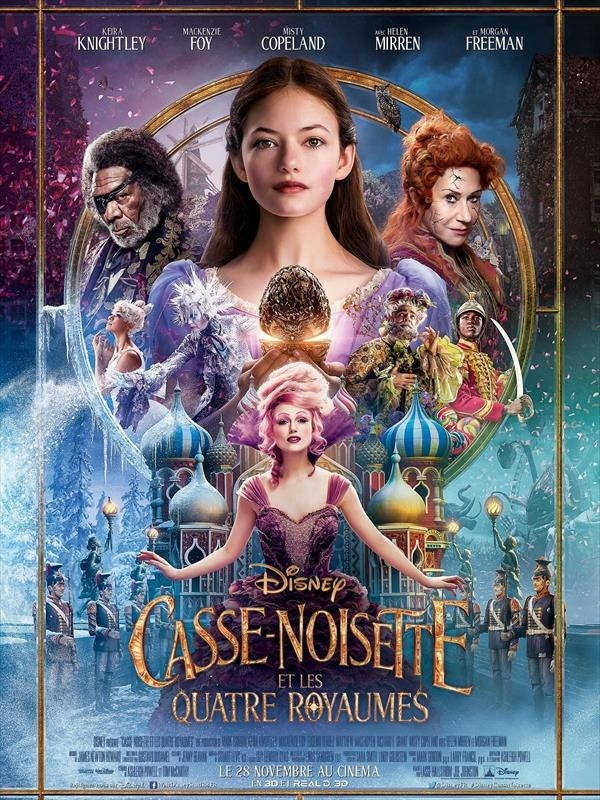 Casse-Noisette et les Quatre Royaumes, affiche