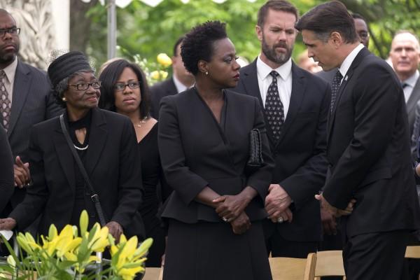 Personnages, Viola Davis, Garret Dillahunt, Colin Farrell