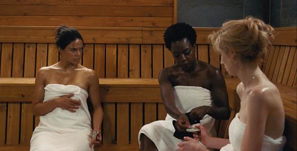 Michelle Rodriguez, Viola Davis, Elizabeth Debicki