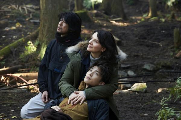 Masatoshi Nagase, Juliette Binoche, Takanori Iwata