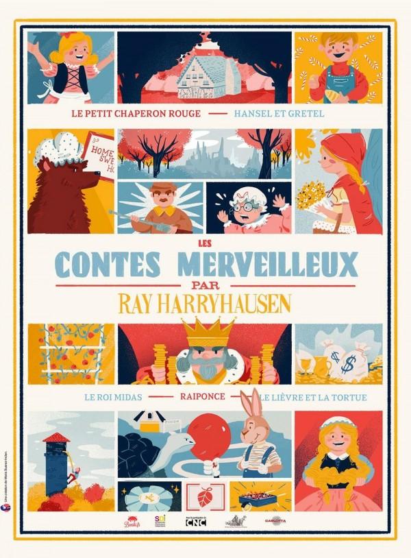 Les Contes merveilleux par Ray Harryhausen, affiche