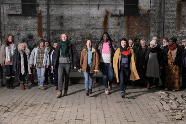 Personnages, Corinne Masiero, Audrey Lamy, Déborah Lukumuena, Noémie Lvovsky, personnages