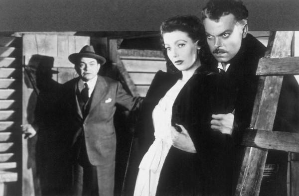 Edward G Robinson, Loretta Young, Orson Welles